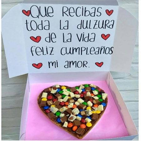 Galleta Pizza Personalizada