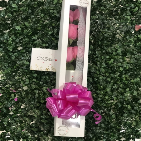 Caja de Rosas Cali x3