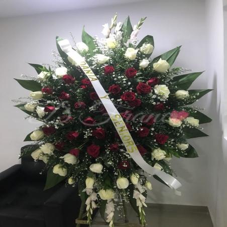 Fúnebre Blanco y Rojo