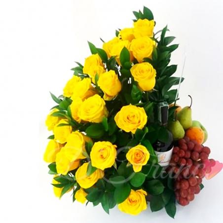 Arreglo Floral dulce Amanecer