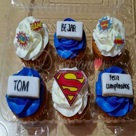Cupcakes Personalizados Super Héroe