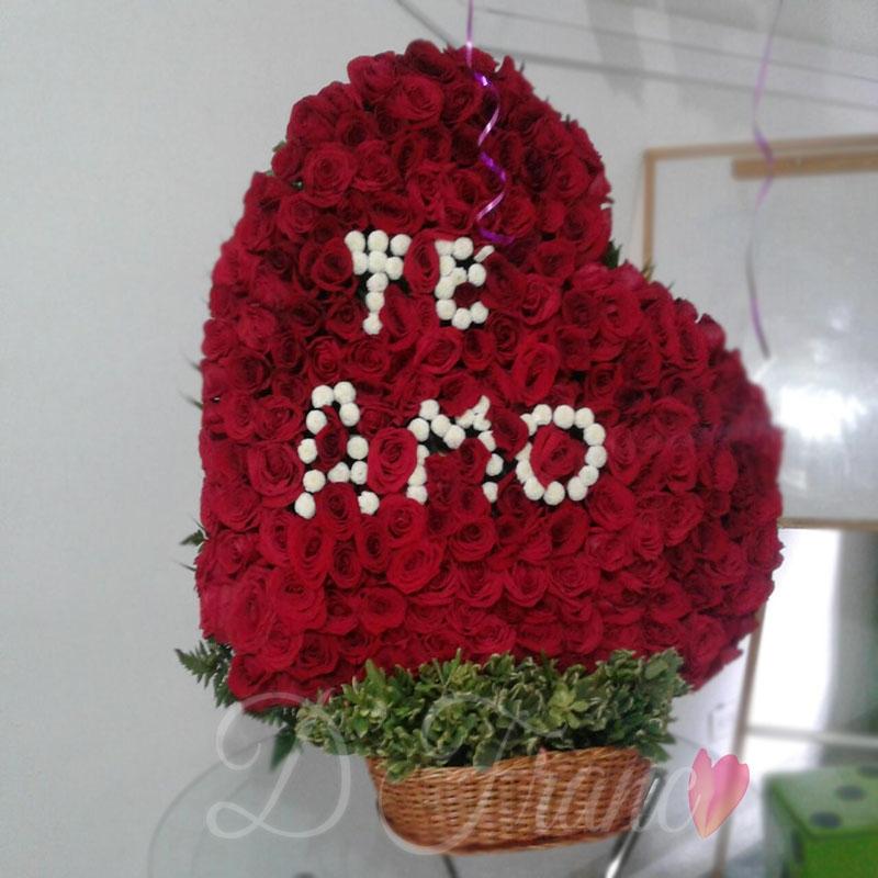 Corazón En Rosas Enamorame