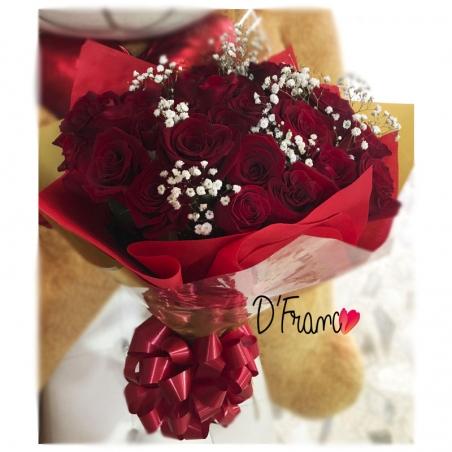 Bouquet de Rosas Rojas Amore