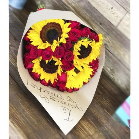 bouquet De Girasoles personalizado