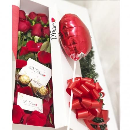 Caja De Rosas x6 Cali