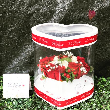Rosas Corazón