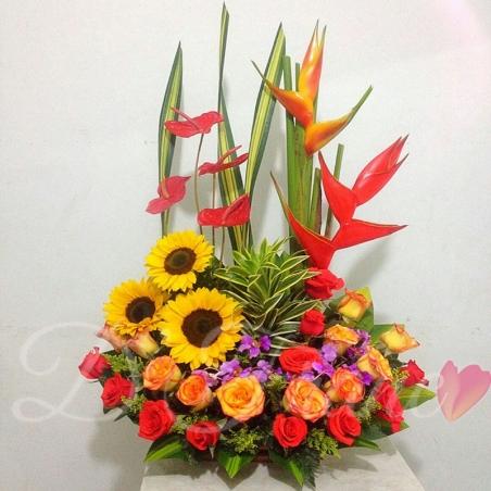 Arreglo Floral Felicidad